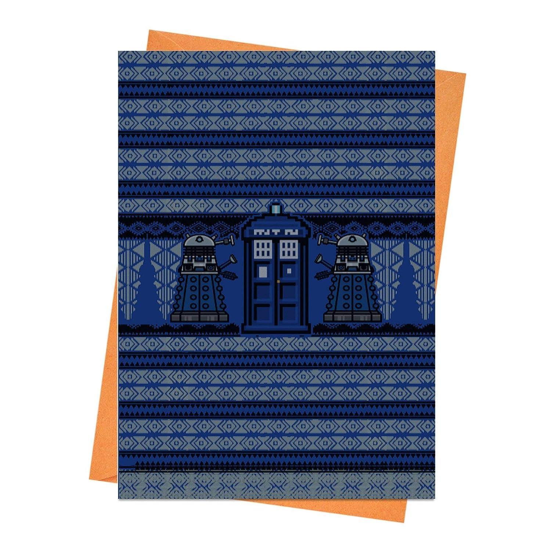 Doctor Who Christmas Cards.Amazon Com Funny Christmas Card Funny Holiday Card Dalek Card