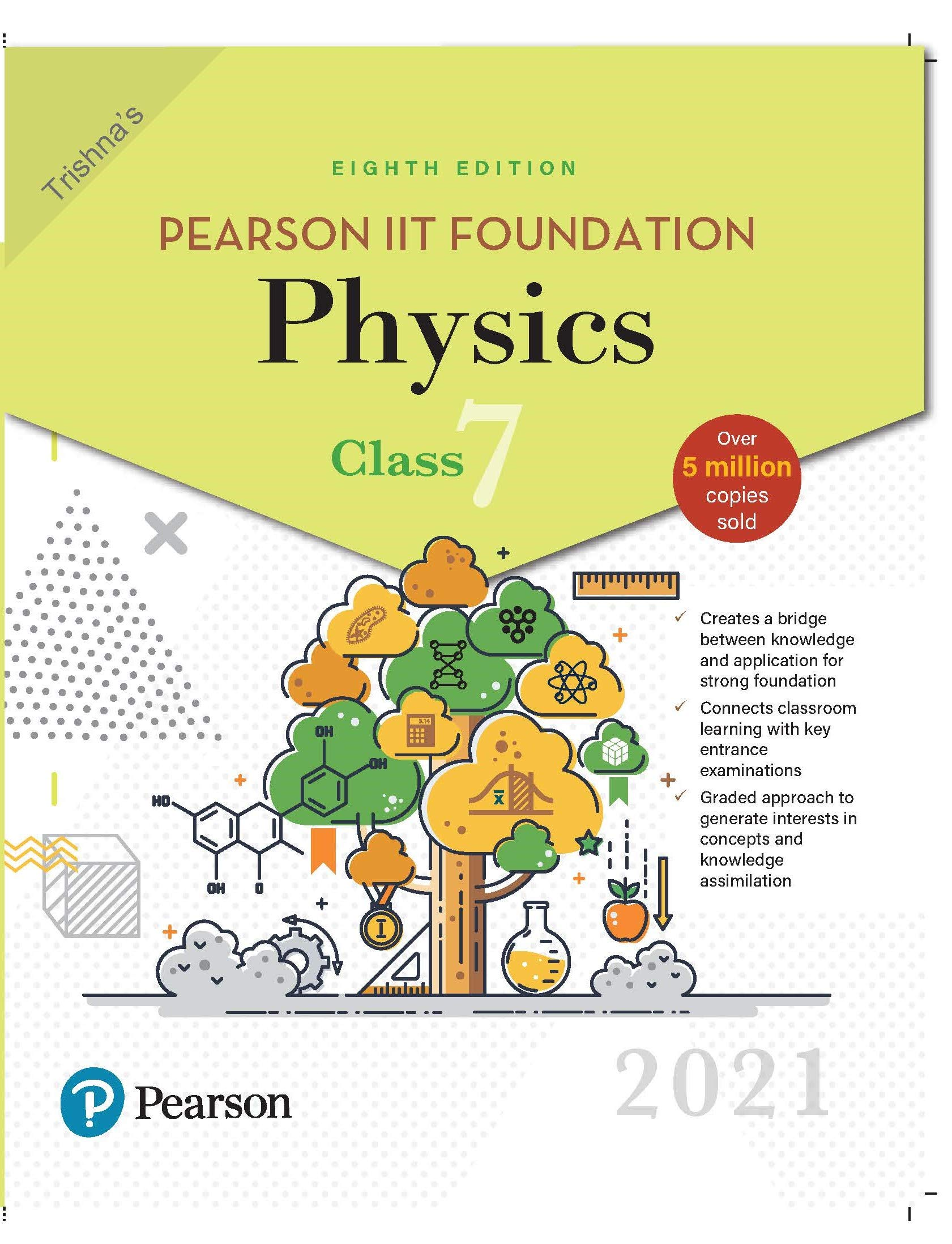 Pearson IIT Foundation Physics | Class 7 | 2021 Edition| By Pearson