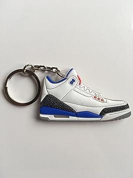 SneakerKeychainsNY Jordan Retro 3 - Llavero con Zapatillas ...