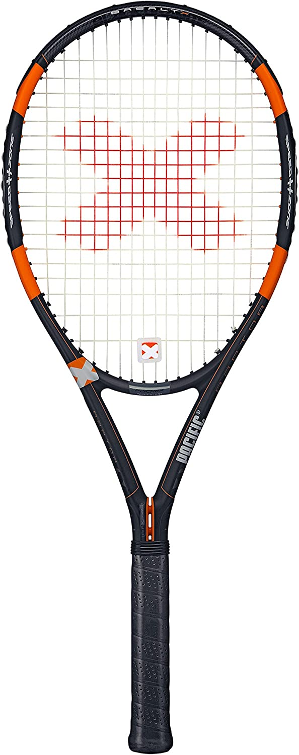 Amazon.com : Pacific Raptor Strung with Cover Tennis Racquet ...
