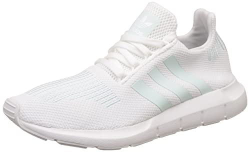 competitive price 21830 2138a adidas Damen Swift Run Laufschuhe Weiß (Footwear WhiteGrey OneIce Mint)