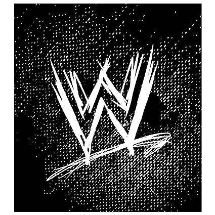 WWE – Manta polar 120 x 150 cm, 100% poliéster, diseño con logo