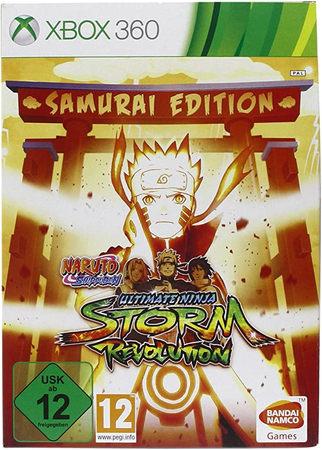 Naruto Shippuden: Ultimate Ninja. Storm Revolution - Samurai Edition (Collector): Amazon.es: Videojuegos