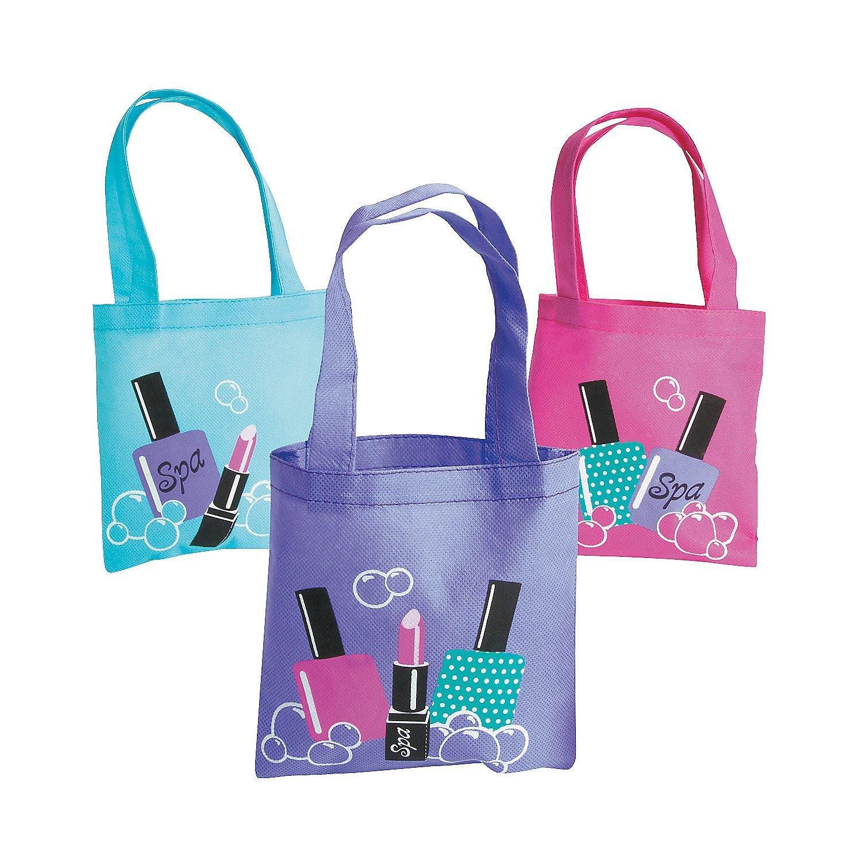 Spa Party Mini Tote Bags