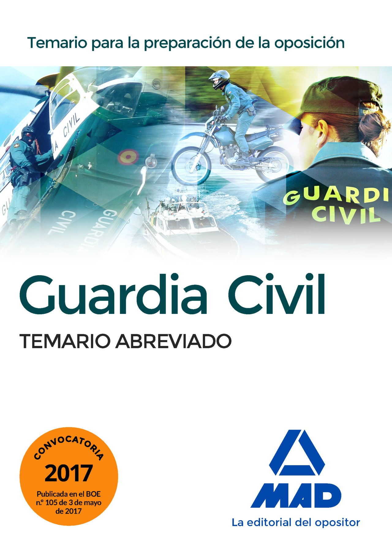 temario abreviado mad guardia civil