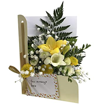 Fresh Flowers Delivered Spring Special Flower Card By Post CONVENIENT Fits