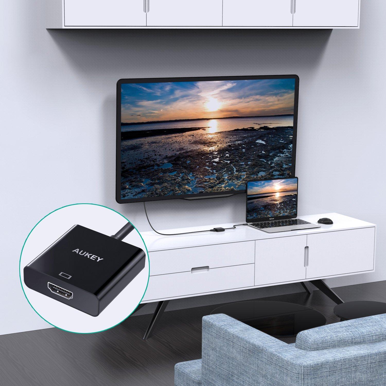 AUKEY USB C Adapter auf HDMI Unterstützt 4K Amazon puter