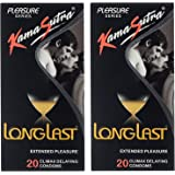 Kama Sutra Long Last 20-Pieces Condom - Pack of 2
