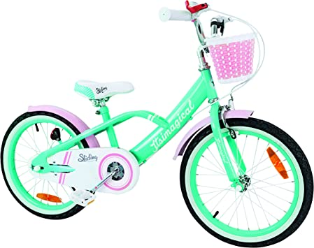 Imaginarium- City Bike Turquoise, Bicicleta de Paseo para niños 6 a ...