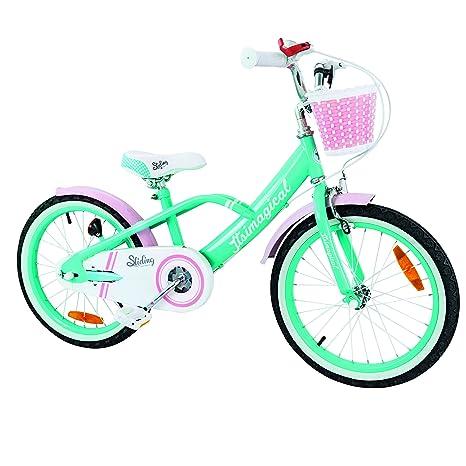 Imaginarium City Bike Turquoise, Bicicleta de Paseo para niños 6 a 9 años Color Turquesa