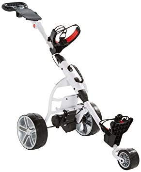 Score Industries Golftrolley Elektrotrolley Mocad 2.5 Carro de Golf eléctrico, Unisex, Blanco: Amazon.es: Deportes y aire libre