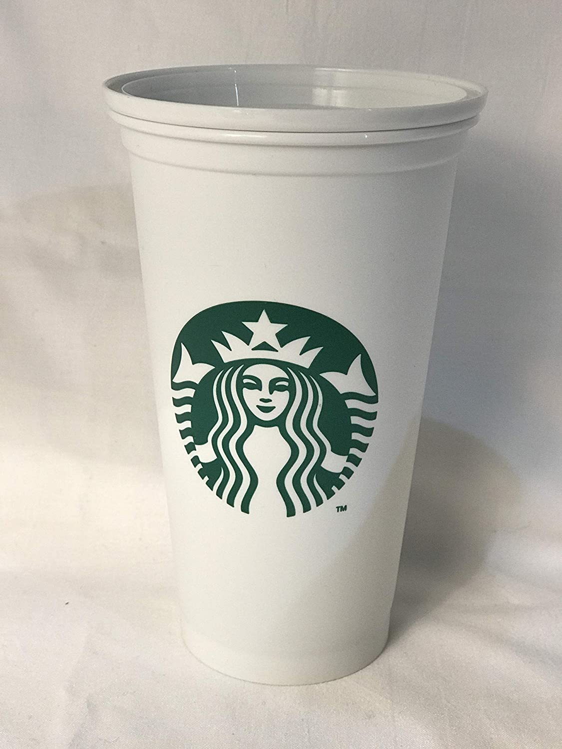 Starbucks Reusable Travel Cup To Go Coffee Cup (Grande 16 Oz)