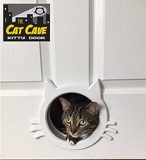The Cat Cave Interior Cat Door gate way  sc 1 st  Amazon.com & Amazon.com : Cat Door - The Original Cathole Interior Pet Door - The ...