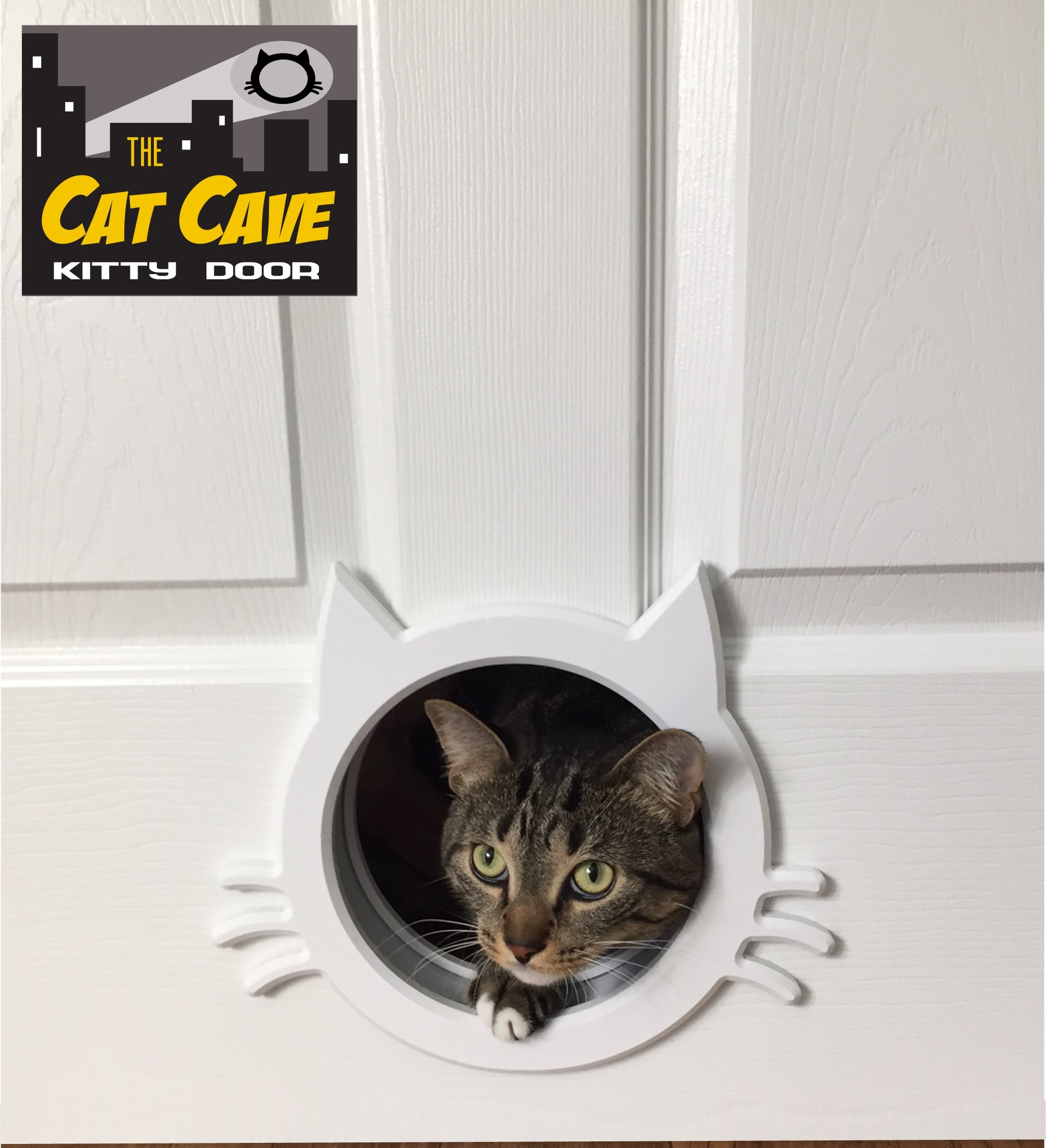 The Cat Cave Interior Cat Door gate way