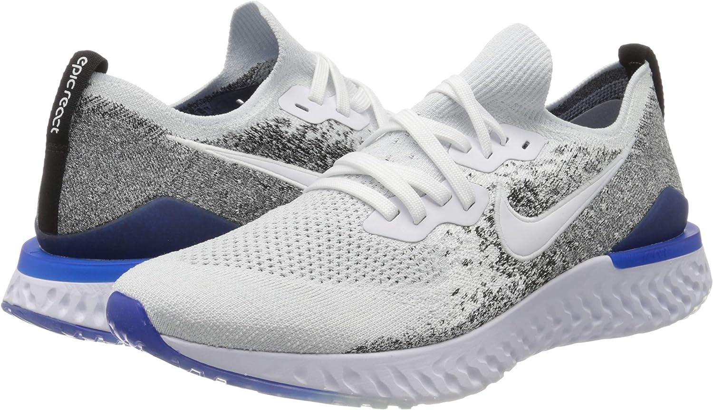 Nike Epic React Flyknit 2, Zapatillas de Running para Hombre ...