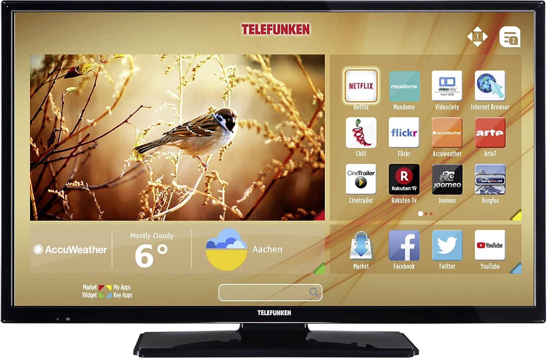 Telefunken LED-TV 122cm 48 Zoll B48F545B EEK A++ DVB-T2, DVB-C ...