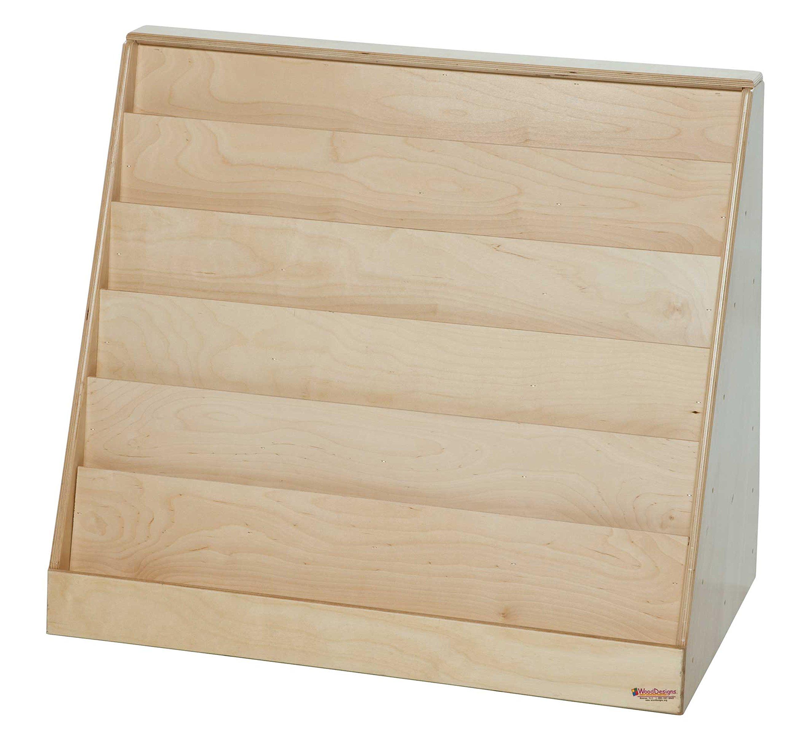 Wood Designs WD35000 Book Storage and Display, 30 x 30 x 25'' (H x W x D)