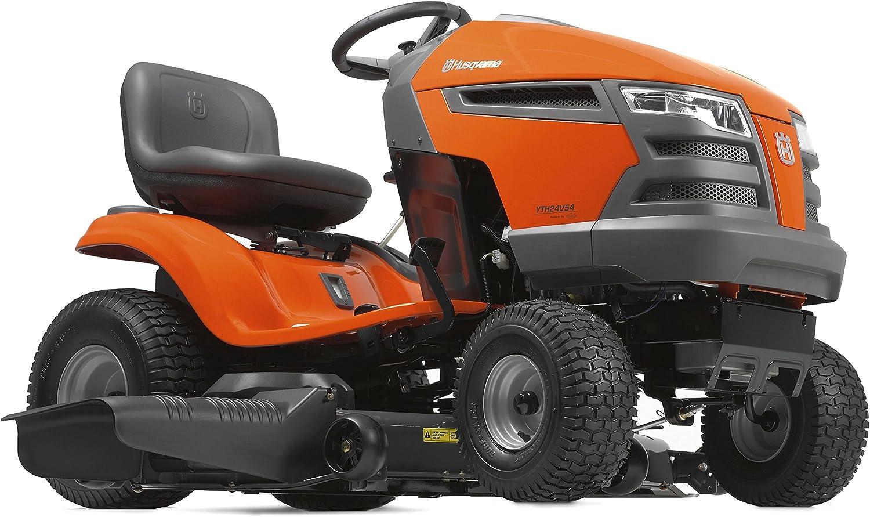 Amazon.com : Husqvarna YTH24V54 54 in. 24 HP Briggs & Stratton Hydrostatic Riding  Mower : Garden & Outdoor