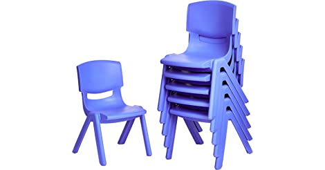 Amazonbasics 6-Pack 10' School Classroom Stack Resin Chair only $32.56