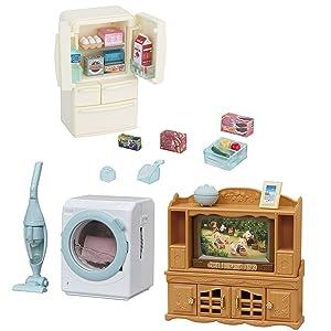 3 Sets - TV, Refrigerator and Washing Machine Sets - Get them Together (Japan Import)