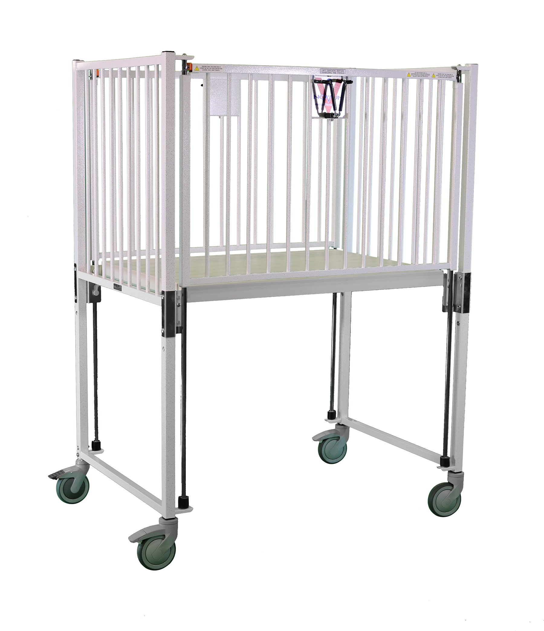 Crib, Infant, Flat Pan Deck, 30 x 44, Epoxy