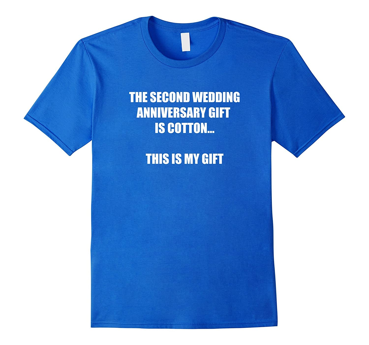 2nd Wedding Anniversary Tee Shirt Marriage Gift For Couples Gm