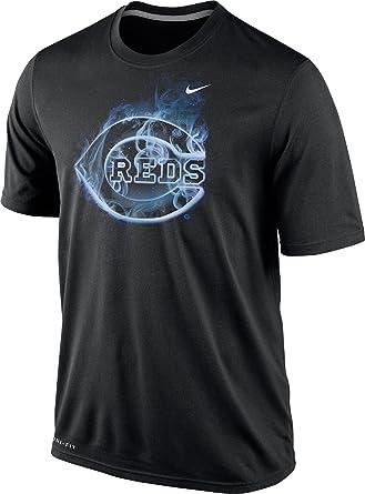 49a739dc7 Amazon.com: Nike Cincinnati Reds Men's MLB Legend Vapor Logo Dri-FIT ...