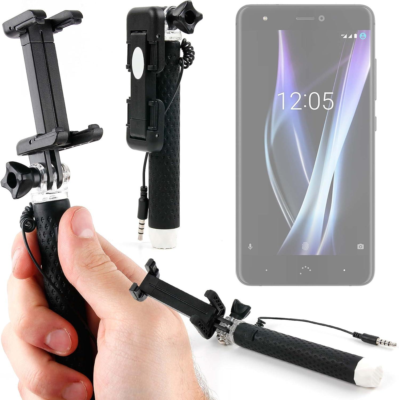DURAGADGET Palo Selfie (Selfie-Stick) para Smartphone BQ Aquaris X ...