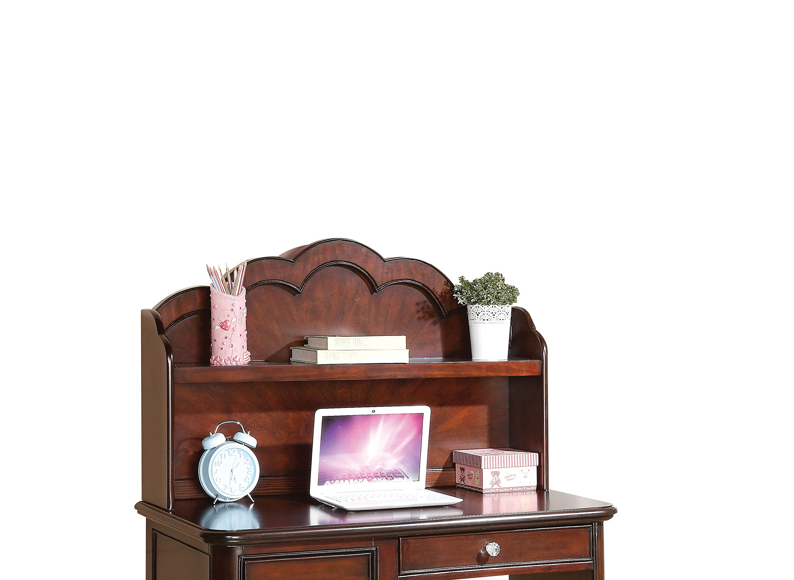 Acme Furniture Cecilie 30288 Hutch, Cherry by Acme Furniture