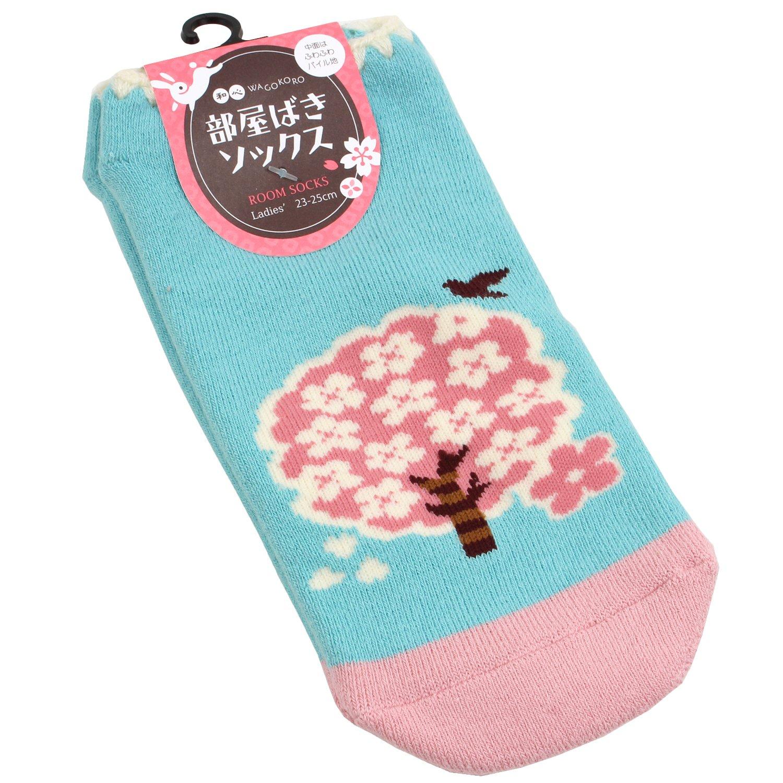 Ninja Kids Chaussettes Tabi Japonaise pour Enfant Design Sakura