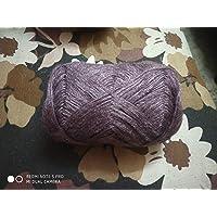 3 PLY Knitting Wool Yarn_Pack 4_100 Gram Each_Light-Brinjal_Colored
