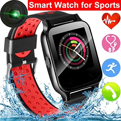 Amazon.com: Sport Smart Watch for Men Women, Waterproof ...