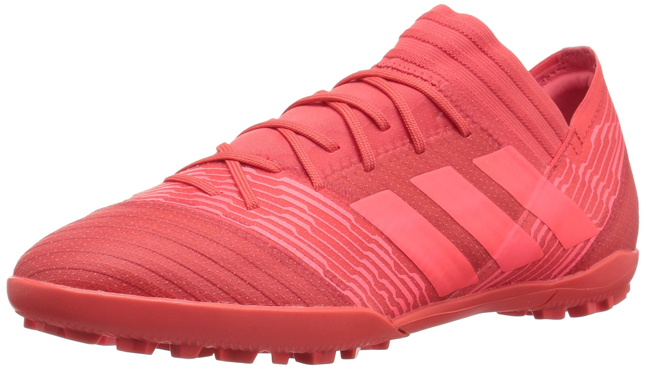 adidas Men's Nemeziz Tango 17.3 TF Soccer Shoe, Real Coral/Red Zest/Core Black, 9 M US by adidas