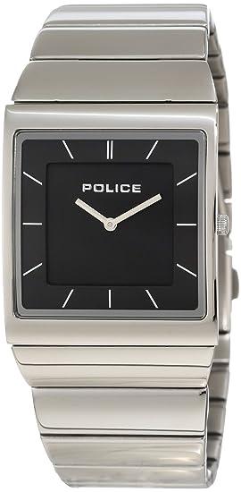 Police Skyline M P12669MS-02M - Reloj unisex de cuarzo, correa de acero inoxidable color plata: Police: Amazon.es: Relojes