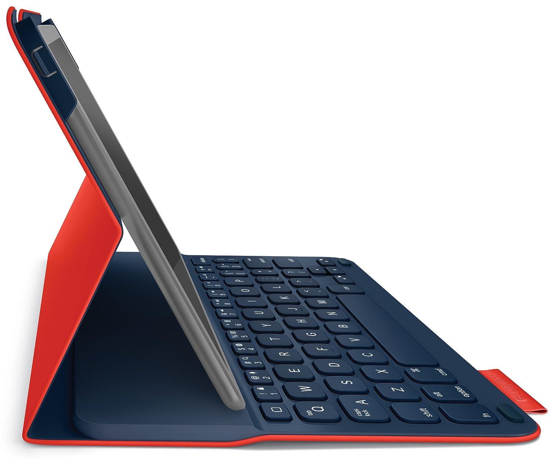 a70eaf6c3bd Amazon.com: Logitech Ultrathin Keyboard Folio for iPad 5, Mars Red Orange:  Computers & Accessories