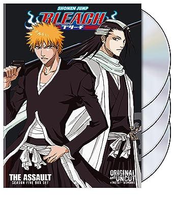 Amazon com: Bleach Uncut Box Set: Season 5 - The Assault