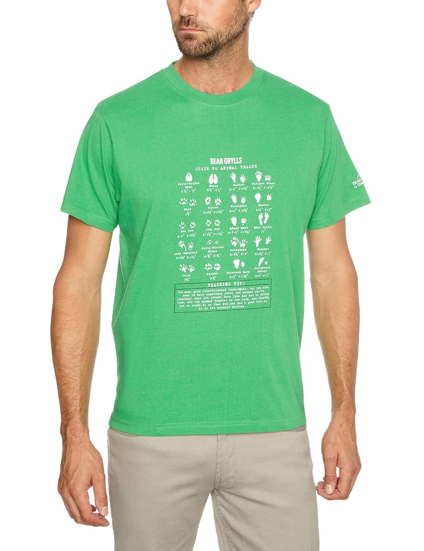 Bear Grylls Animal Tracks Camiseta para Hombre