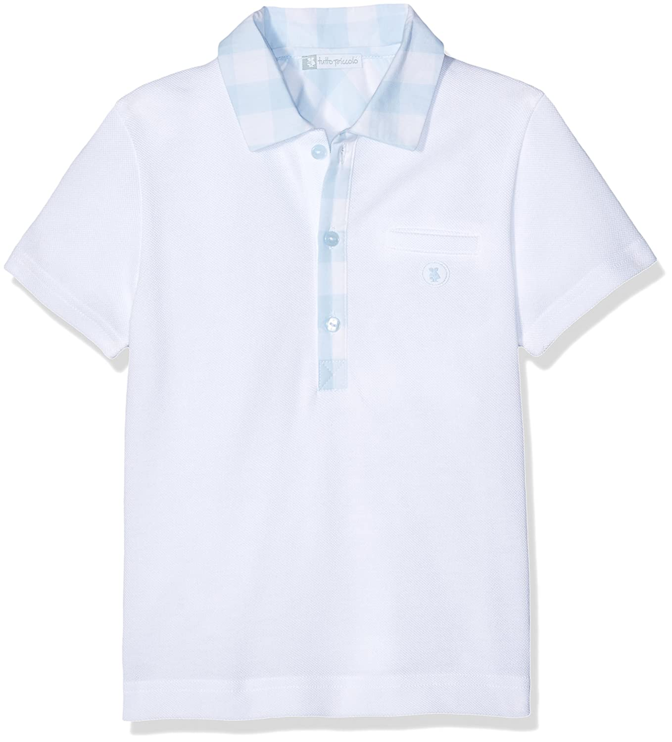 Tutto Piccolo Toile De Jouie Polo, Multicolor (Blanco/Celeste), 86 ...