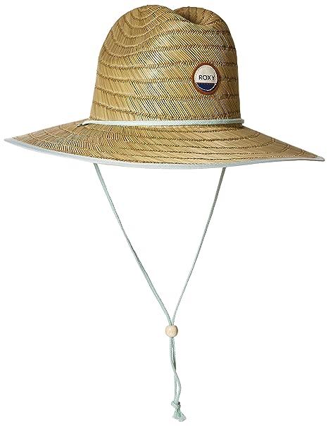 f0f0e3295cf9e Roxy Juniors Tomboy Paja Playa Sombrero - Beige -  Amazon.es  Ropa y  accesorios