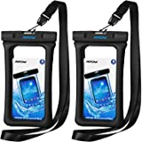 Mpow 084 Waterproof Phone Pouch Floating, IPX8 Universal Waterproof Case Underwater Dry Bag Compatible iPhone 11 Pro Max…