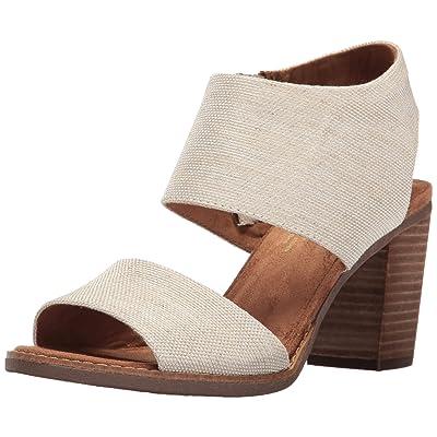 TOMS Women's Majorca Peep Toe Mid Calf Boot | Shoes
