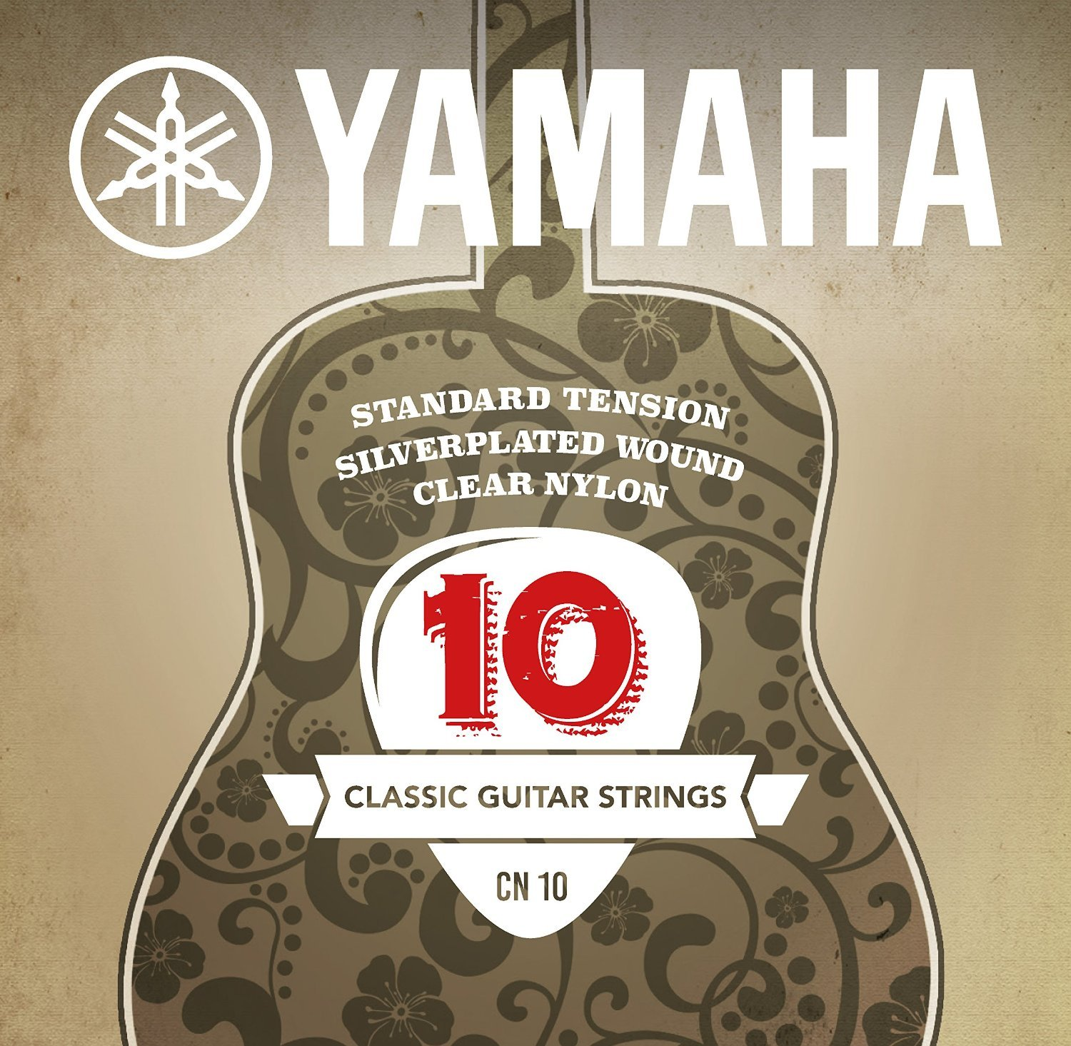 Yamaha SCN10 Classical Guitar Strings - Normal Tension GCSCN10