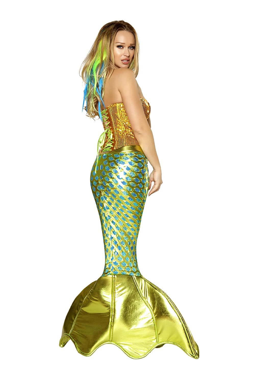 Amazon.com Womenu0027s Sexy Siren of The Sea Mermaid Deluxe Costume Clothing  sc 1 st  Amazon.com & Amazon.com: Womenu0027s Sexy Siren of The Sea Mermaid Deluxe Costume ...