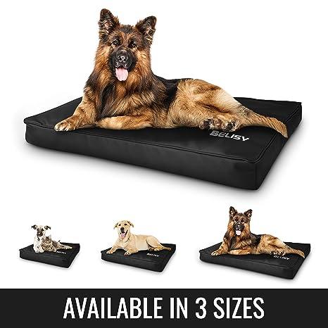 Colchoneta moderna para perro Belisy hecha de imitación de piel de alta calidad, cama para