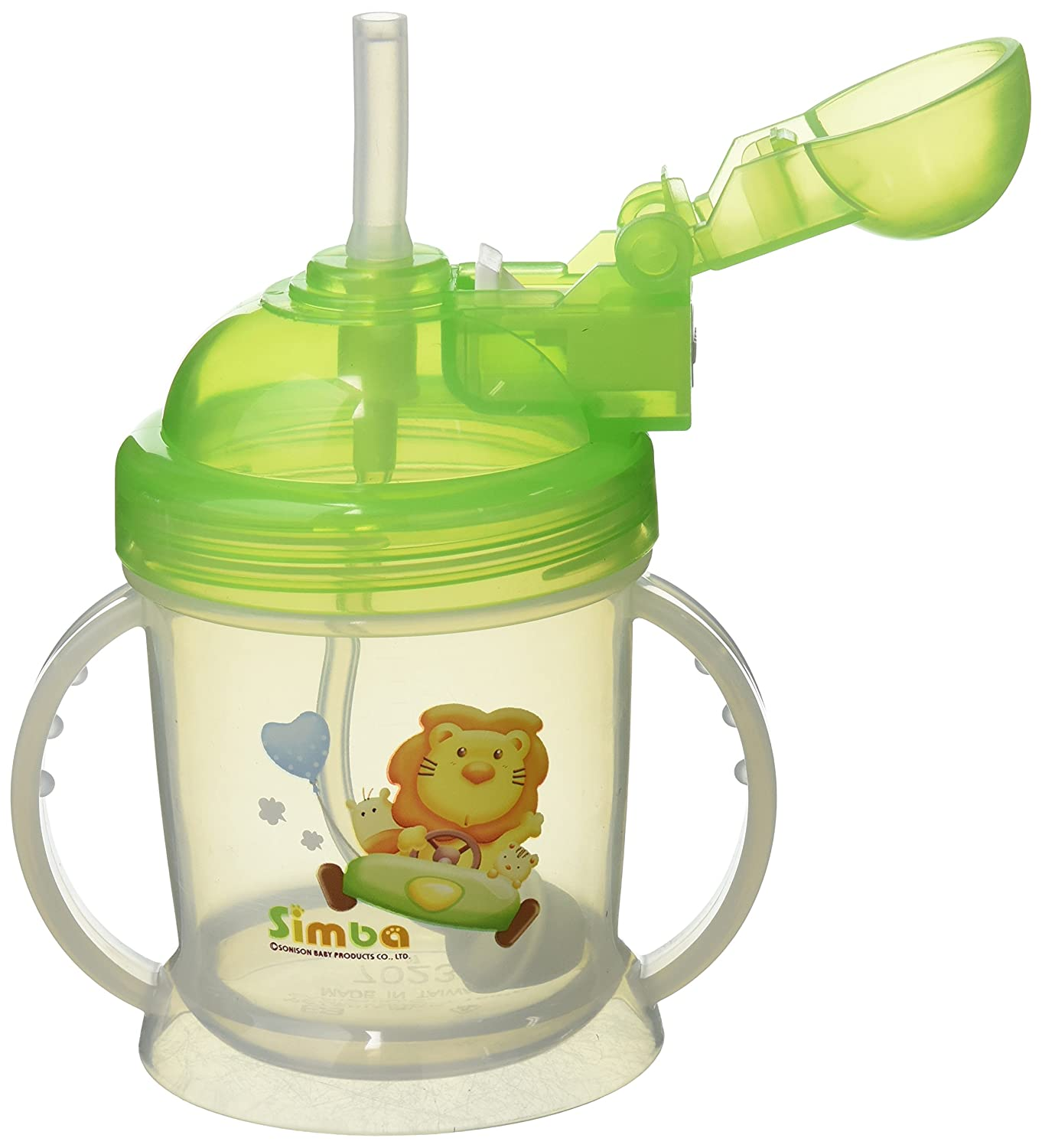 2 PC Straw Set With Cleaning Brush Replacement For 6oz Baby Training Sippy Cup