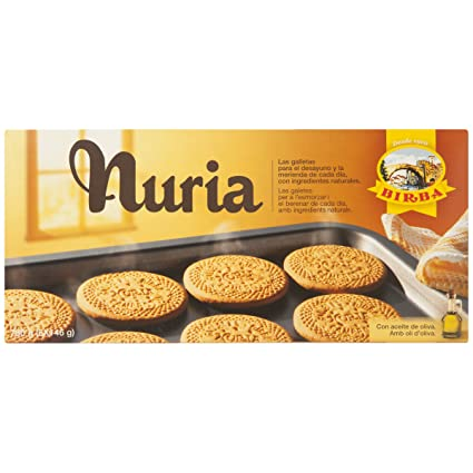 Galletas de avena vivo