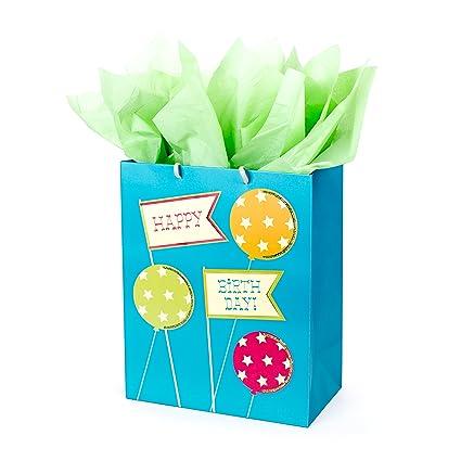 Amazon Hallmark Birthday Large Gift Bag With Tissue Paper