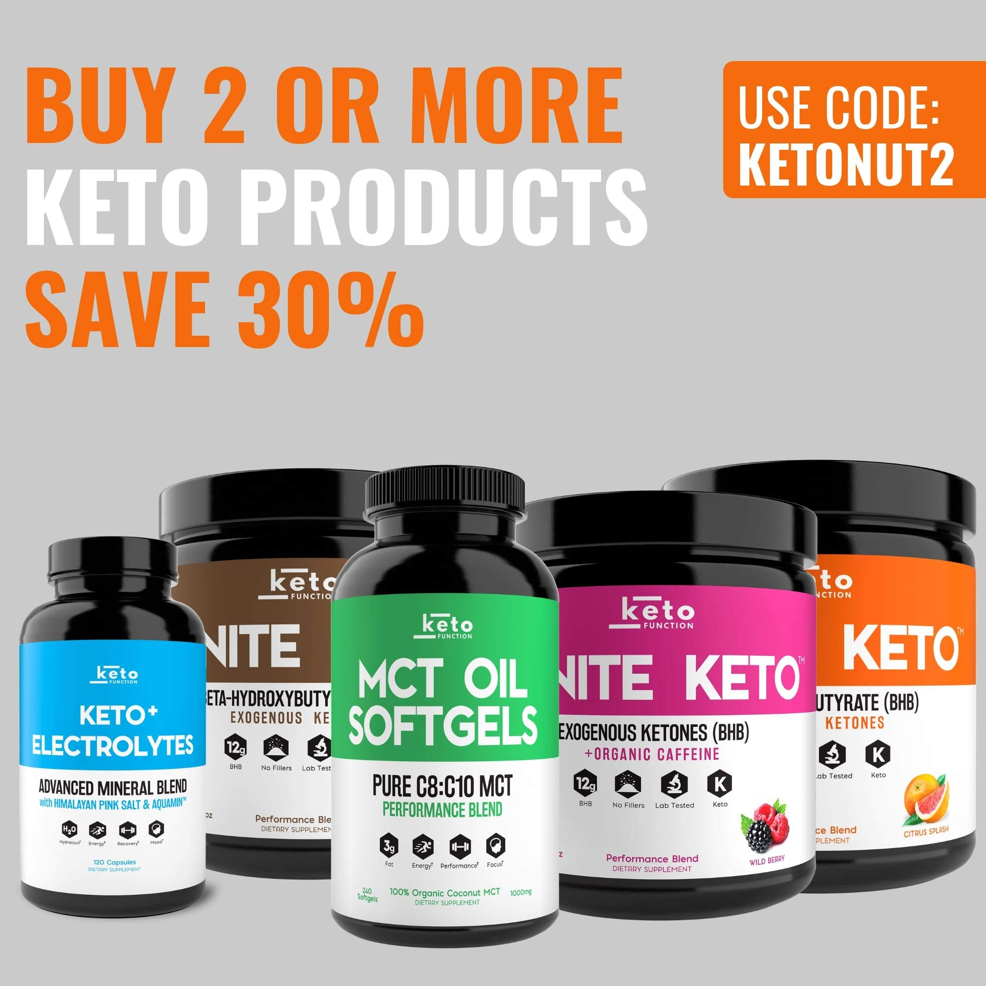 IGNITE KETO Drink - Instant Exogenous Ketones Supplement - 12g Pure BHB Salts - Fuel Ketosis, Energy, and Focus - Best goBHB Ketone Drink Powder Mix - Perfect for Low Carb Keto Diet by Keto Function (Image #7)