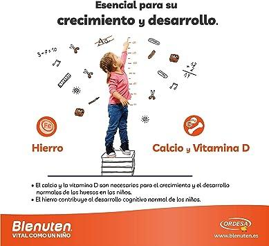 Blenuten Cola Cao 400 grs, alimento completo y equilibrado para niños que requieran un aporte extra de nutrientes: Amazon.es: Salud y cuidado personal