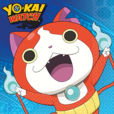 Amscan 511740 Yo-Kai Watch Luncheon Napkins, Party Favor, Multicolor, One Size: Toys & Games